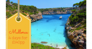 Mallorca break - 4 days deal for £140pp